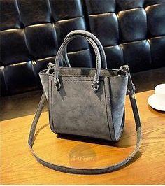 Artsivaris New Women Leather Tote Messenger Shoulder Bag Medium Travel Purse   66990aa19e382