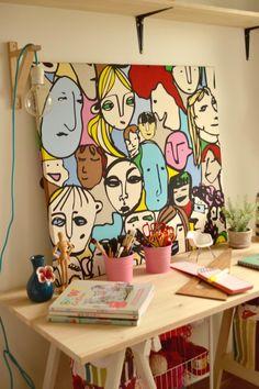 Painting Inspiration, Art Inspo, Art Sur Toile, Cubism Art, Portrait Art, Diy Art, Cool Art, Art Drawings, Art Projects