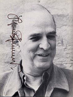Signed Ingmar Bergman Photograph