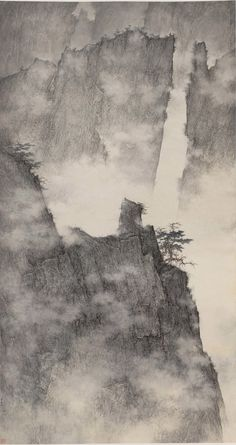 Ethereal Landscapes: Li Huayi's Traditional Chinese Painting Fused with Modern Abstraction #TraditionalCulture
