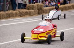 Whether your young soap box racer is just having fun or aiming for the World Championship finals at Diy Soap Box Car, Soap Box Derby Cars, Soap Box Cars, Soap Boxes, Diy Car, Disney Cars Birthday, Cars Birthday Parties, New Audi Car, Pinewood Derby Cars