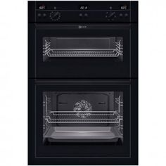Neff U15E52N3GB Series 3 Electric Built-In Double Oven Stainless Steel - Banyo