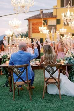 Glam outdoor wedding details Italy Wedding, Our Wedding, Wedding Decor, Outdoor Wedding Reception, Outdoor Weddings, Grandma Birthday, High School Sweethearts, Ceremony Arch, We Fall In Love