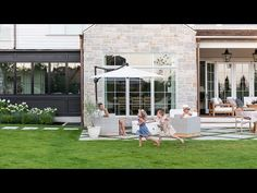 Estudio Mcgee, Exterior Remodel, Outdoor Living, Outdoor Decor, Backyard Projects, Pool Landscaping, Youtube, Outdoors, Planting