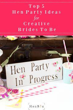 Creative hen parties