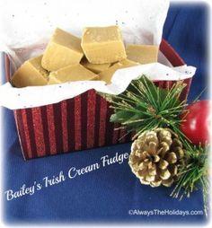 Bailey's Irish Cream Fudge - Just plain delicious!