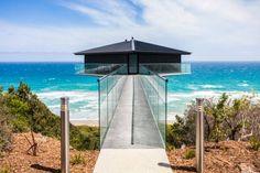 La casa è sospesa sull'oceano: l'architettura è una illusione  | Repubblica Viaggi
