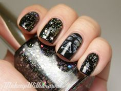 Star Wars nails! One more @April Graham. Because I rock Star Wars like no other can!