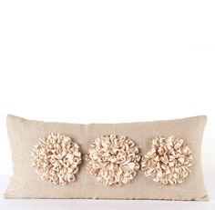 Daniel Stuart Studio - Gallery - Aster Pillow - Churchill Linen - Aster Pillow col: Flax