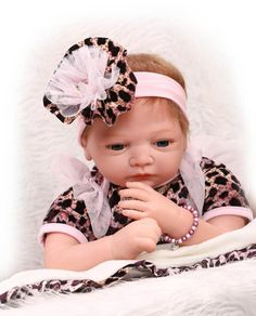 Dolls Toys & Hobbies Npk 22inches 57cm Full Silicone Vinyl Reborn Dolls Newborn Babies Doll Alive Bebe Girl Child Gifts Toy Blonde Hair To Help Digest Greasy Food