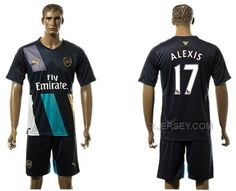 http://www.xjersey.com/201516-arsenal-17-alexis-third-away-jersey.html 2015-16 ARSENAL 17 ALEXIS THIRD AWAY JERSEY Only $35.00 , Free Shipping!