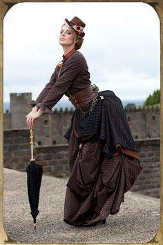 Steampunk Day Dress