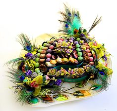Peacock Plate by Forrey