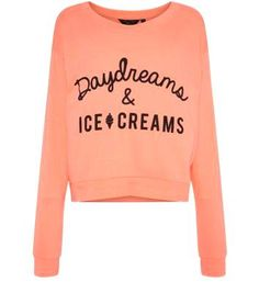 Teens Coral Daydream  Teens Coral Daydreams & Ice Creams Sweater