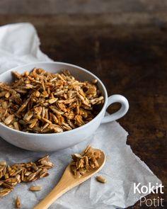 Granola, Cereal, Seeds, Honey, Breakfast, Food, Morning Coffee, Essen, Meals