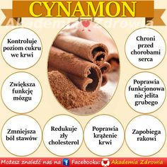 KORZYŚCI ZDROWOTNE CYNAMONU New Recipes, Healthy Recipes, Kraut, Just Do It, Diabetes, Natural Remedies, Ale, Detox, Healthy Lifestyle