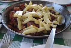 conejo con ajo - a favourite meal - see my article about Spanish food: http://www.unique-almeria.com/spanish-food1.html#