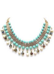 Turquoise Empress Necklace - Modeets.com