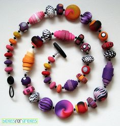 Pop! necklace | Jenna Wright | Flickr