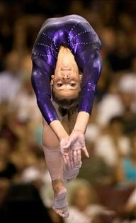 That is so beautiful. And so me. I love gymnastics!!!!! My favorite sport!!!!!