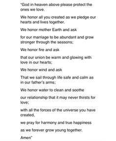 Sample Prayers Of The Faithful Wedding