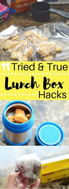 Get ready for back to school with these 11 Tried and True Lunch Box Hacks! Make your mornings run smooth the easy way! Get ready for back to school with these 11 Tried and True Lunch Box Hacks! Make your mornings run smooth the easy way! Cold Lunches, Toddler Lunches, Lunch Snacks, Kid Snacks, Lunch Meals, Healthy Lunches, Toddler Food, Back To School Lunch Ideas, School Lunch Box