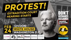 """⏳ ACTION in Solidarity with ⏳ Monday, February DC kicks off at The White House at Sponsors: Chelsea Manning, Washington Dc, Action, Street, House, Group Action, Haus, Houses, Home"