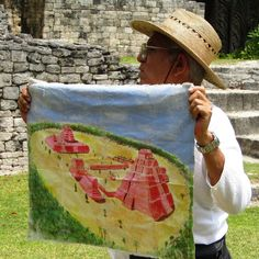 """rbrucemurphy: """"History lesson about the Kohunlich Mayan Ruins in the Yucatan Peninsula."""""""