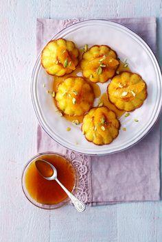 Droom weg bij de nieuwe delicious. kookvideo van deze week: Siciliaanse Sinaasappelcakejes. Eke bakt in de Neff-oven dit delicious.recept.