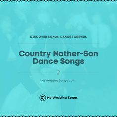What is your favorite Country song for the mother-son dance? It is a special moment for any mother and her son. ⠀ . You can read our list of the top Country mother-son dance songs on our website. .  #weddingsongs #weddingreception Mother Son Dance Songs, Father Daughter Dance Songs, Wedding Love Songs, Wedding Song List, Avril Lavigne, Smokey Robinson Songs, Carpenters Songs, Processional Songs, Reo Speedwagon
