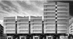 residential building, via Flickr.residential building - Roma  1960 - arch. Sartoris. -