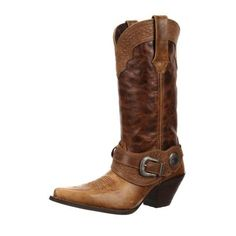 Crush by Durango Women's Spur Strap Western Boot Style #DCRD172 Durango Boots Company
