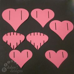 3 under 3 and more: 3D Folding Heart