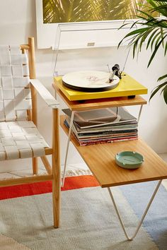 Pro-Ject Debut III Turntable - Yellow - Urban Outfitters