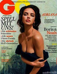 Adriana Lima - GQ Magazine - Germany Edition - July 2011