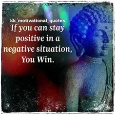 If you can stay positive in negavitve a situation Negative suitation you win. #negative #budhaquotes #positve #negative Best Templates, Blogger Templates, Staying Positive, Website Template, How To Look Pretty, Buddha, Positivity, Quotes, Quotations