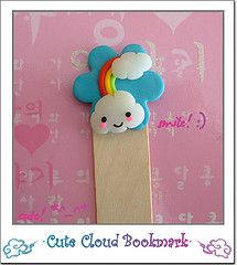 fimo bookmark - add to paperclip instead?