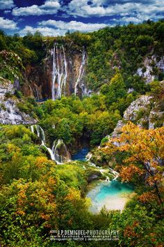 Plitvice Lakes National Park, Croatia #by Juan Pablo de Miguel on 500px.com bzw. www.pinterest.com/pin/575053446142790966/