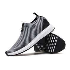 info for 6b175 e1d32 Fashion Men Knitted Strech Fabric Breathable Non-slip Slip On Casual  Sneakers - NewChic Mobile