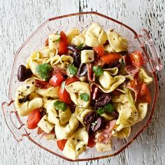 Tortellini salad with pepperoni make a delicious meal. Great for hot summer days. No oven time on this recipe! Great grill side or stand alone light meal.