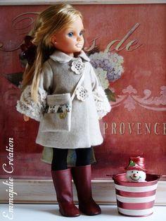 """Manteau pour poupée Nancy - """"Chloé"""""""
