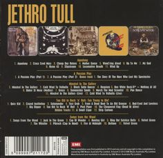 Amazon.co.jp: Jethro Tull : 5 Album Set - 音楽