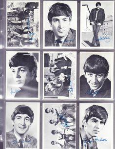 1964 TOPPS BEATLES SERIES 1 BLACK