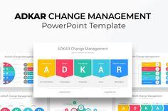ADKAR Change Management PowerPoint Template Gift Card Presentation, Presentation Skills, Presentation Layout, Business Presentation, Comic Template, Templates, Change Management Models, 90 Day Plan, Microsoft Powerpoint