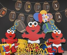 Baby Elmo Centerpiece by cricflix on Etsy, $20.00