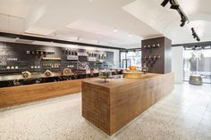 View the full picture gallery of Lingenhel Restaurant Bar, Interior Design, Architecture, Room, Shopping, Home Decor, Kitchens, Space, Gallery