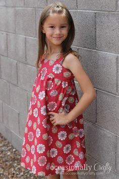 Poppy Play Dress: 30 Days of Sundress Series | Occasionally Crafty: Poppy Play Dress: 30 Days of Sundress Series