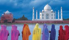 Travel to India and explore Delhi, Jaipur, Rajasthan, Varanasi and Agra. Visit the Taj Mahal, the Pink City and Ranthambore National Park with Smithsonian Journeys. Places Around The World, Around The Worlds, Le Taj Mahal, North India, North South, India Tour, India India, Delhi India, Rishikesh