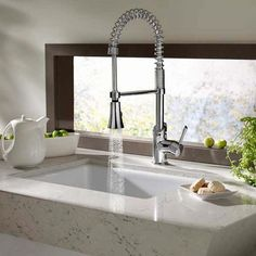 Coriander Single Handle Culinary Faucet - Homeclick Community