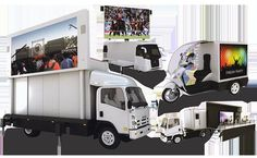 Different kinds of LED mobile truck display